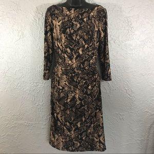 Ralph Lauren snake skin Bodycon dress